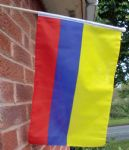 HAND WAVING FLAG - Colombia
